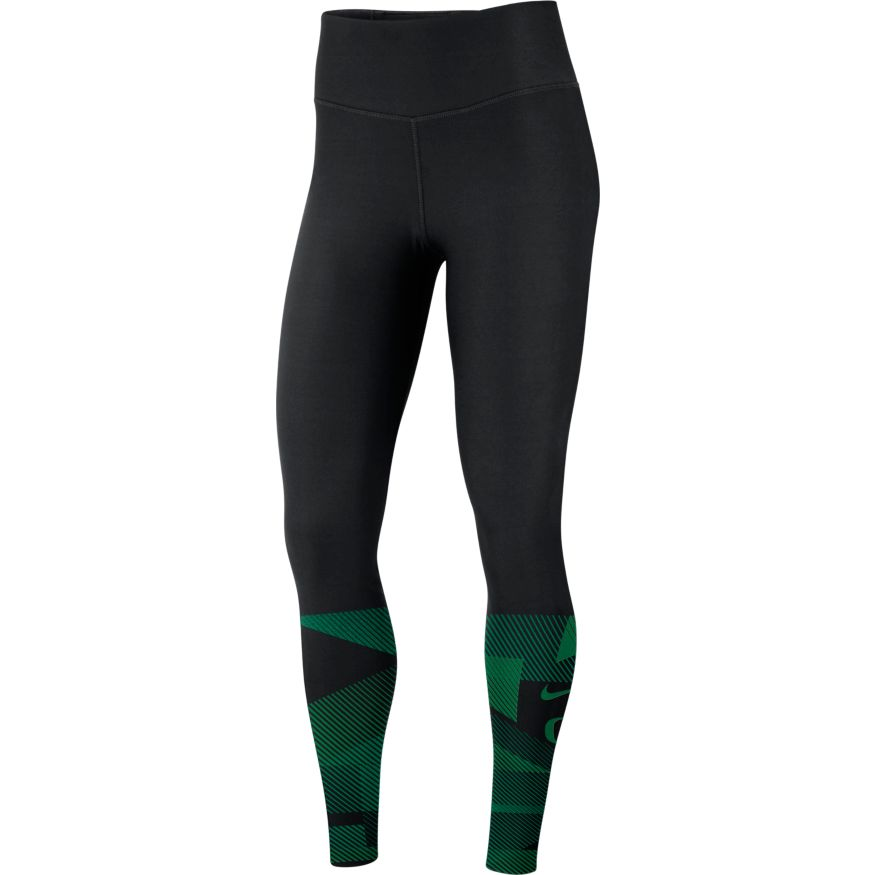 Classic Oregon O, Women's, Nike, Blockstripe, Tight