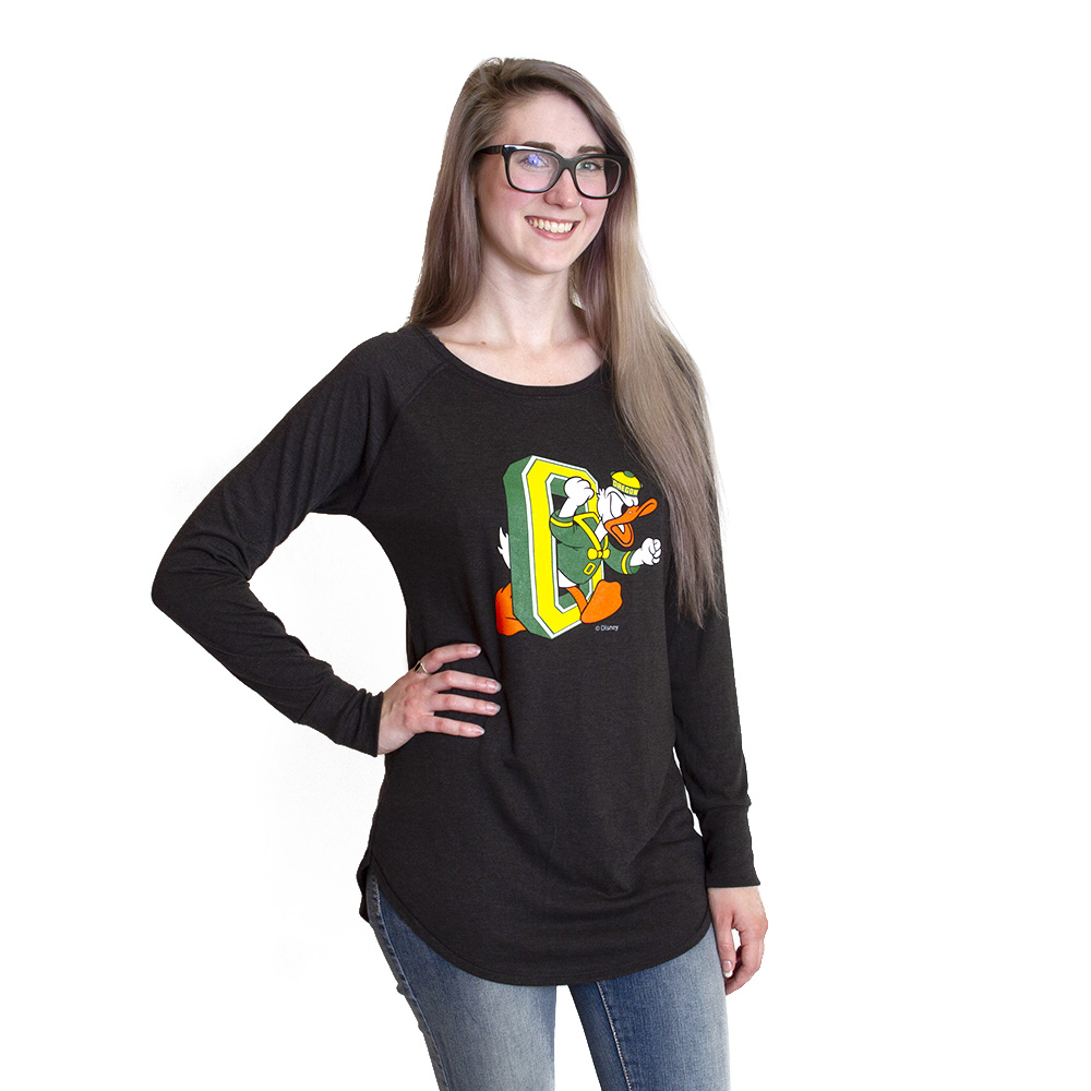 Duck through O, DTO, Women's, Tri-Blend, Long Sleeve, T-Shirt