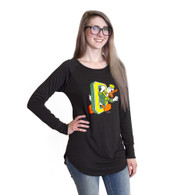 Women, DTO, Tri-Blend, Long Sleeve, T-Shirt