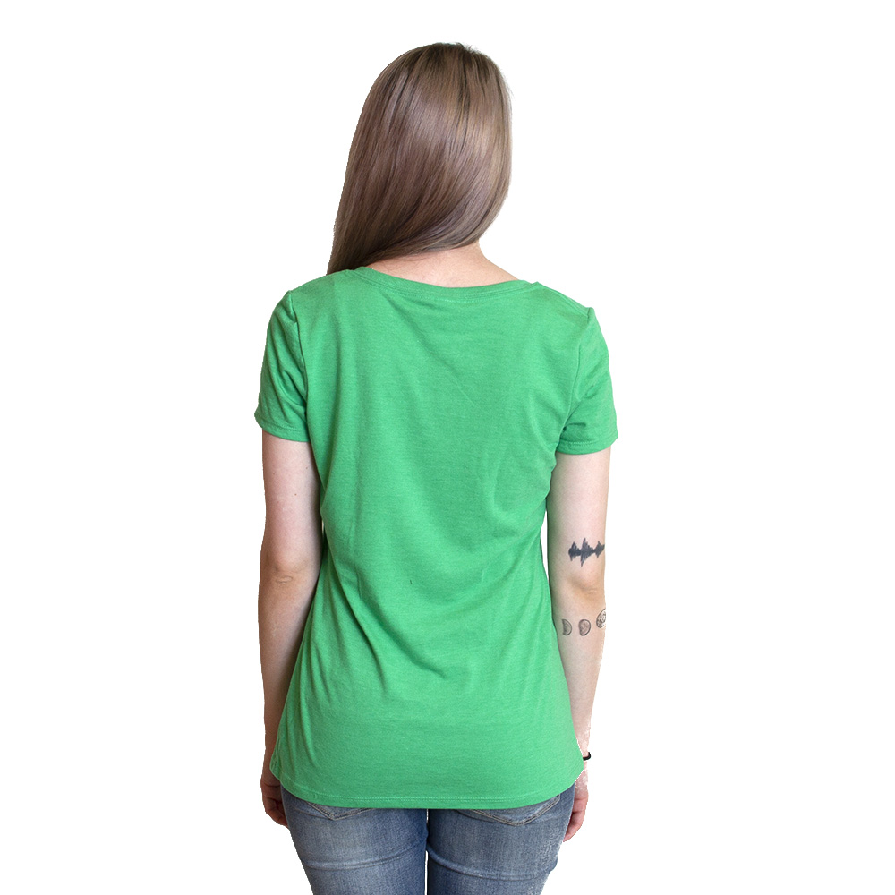 Women, DTO, Full Color, Crew Neck, Short Sleeve, T-Shirt, Back