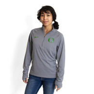 Classic Oregon O, Women's, Nike, Dri-FIT, Core, 1/2-zip, Pullover