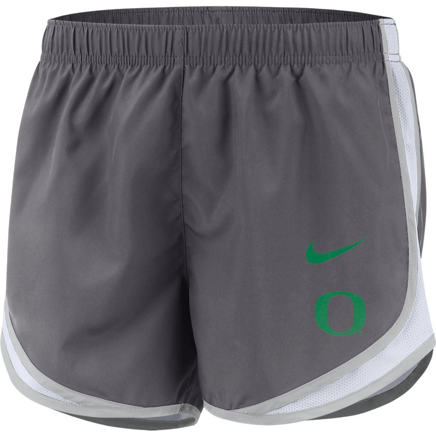 Classic Oregon O, Nike, Women's, Tempo, Short, Dark Grey