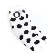 Classic Oregon O, Polka Dot, Sock