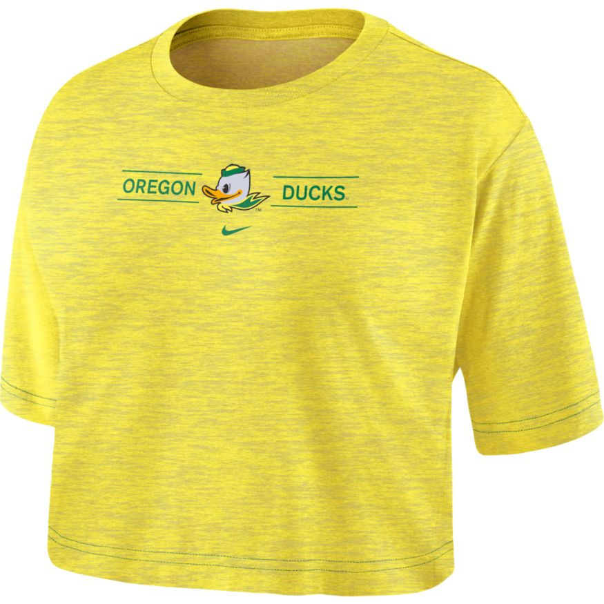 Women's, Fighting Duck, Nike, Slub, T-Shirt