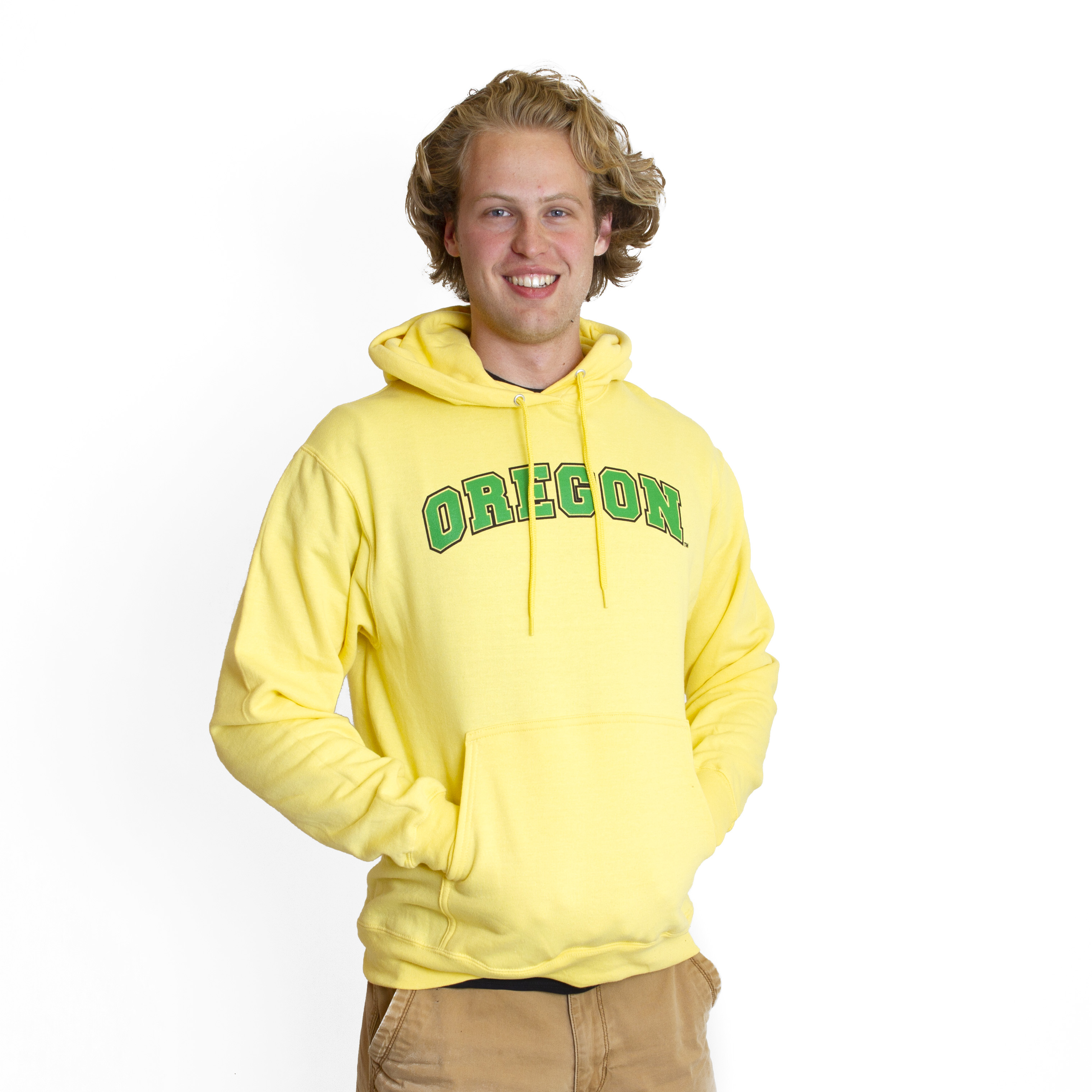 Arched Oregon, Basic, Fleece, Pullover, Hoodie, Sweatshirt