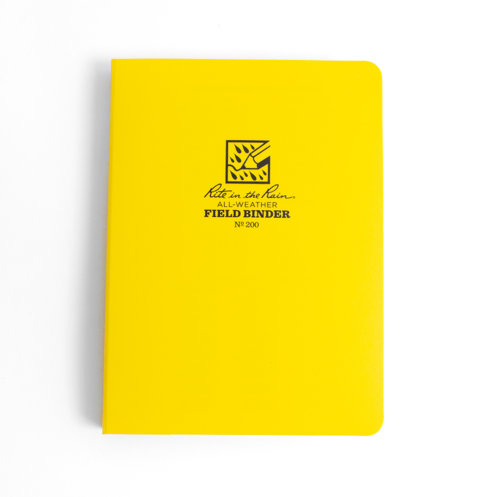 Yellow Cover Rite in the Rain Binder