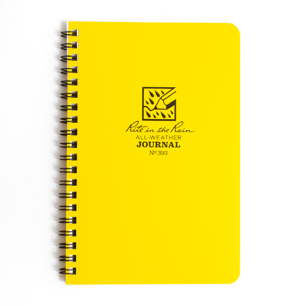 Yellow Cover Rite in the Rain Spiral Notebook