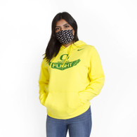 Classic Oregon O, Women in Flight, Nike, Hoodie