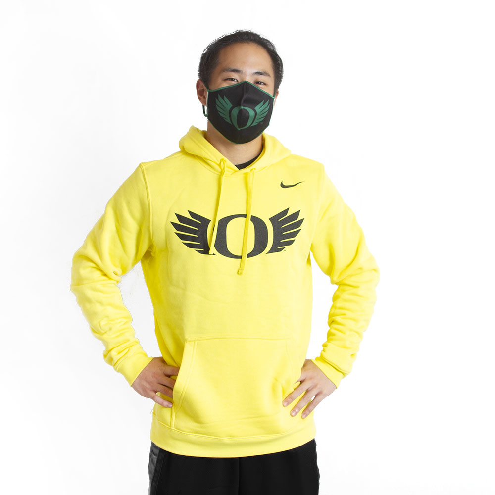 Classic Oregon O, O Wings, Nike, Drawstring, Hoodie