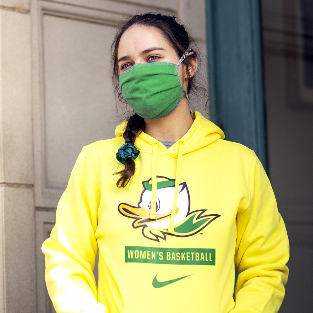 Fighting Duck, Women's, Nike, Basketball, Hoodie