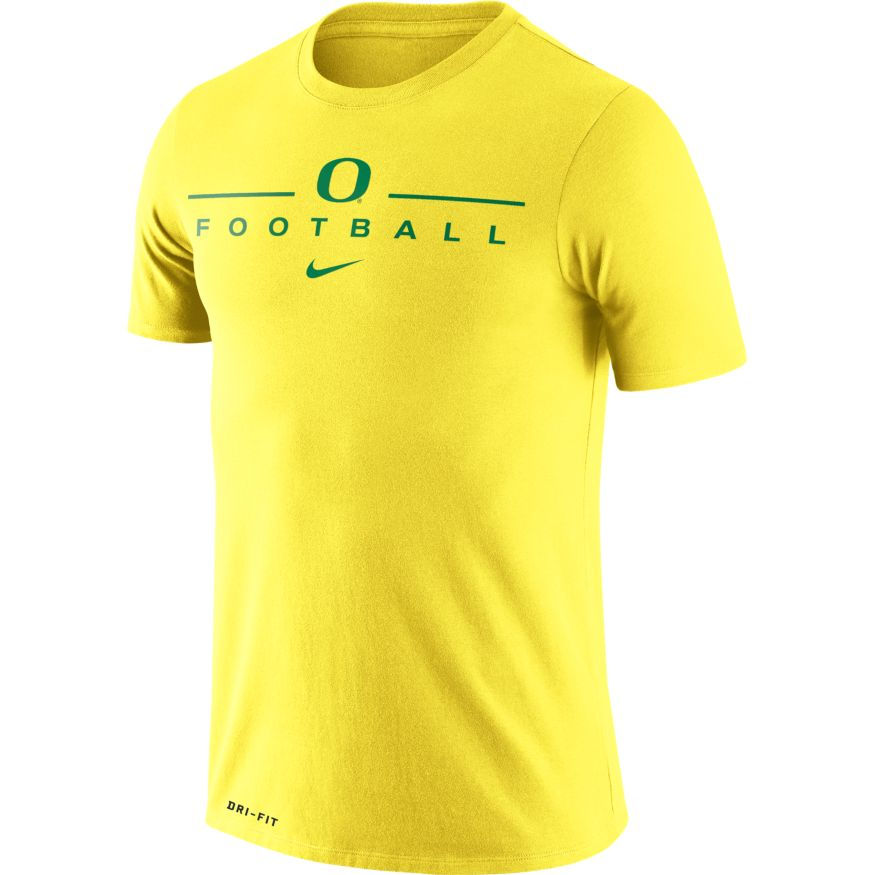 Classic Oregon O, Nike, Football, Icon, T-Shirt