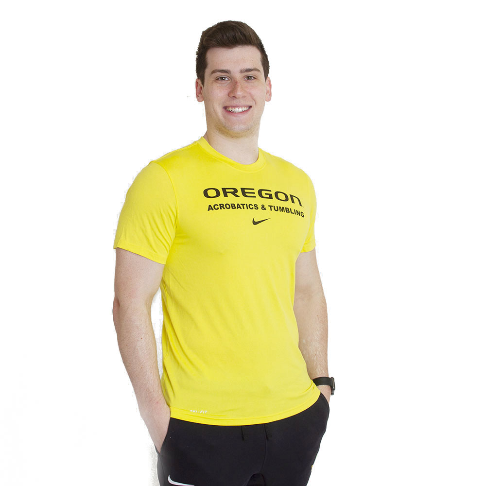 Oregon, Acrobatics & Tumbling, Nike, Dri-FIT, T-Shirt