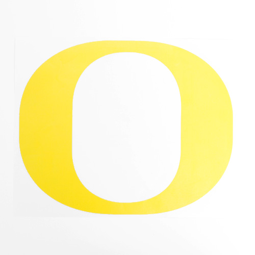 Yellow O Decal 11
