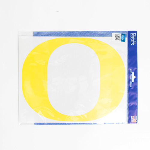 "Classic Oregon O, 11"", Decal"