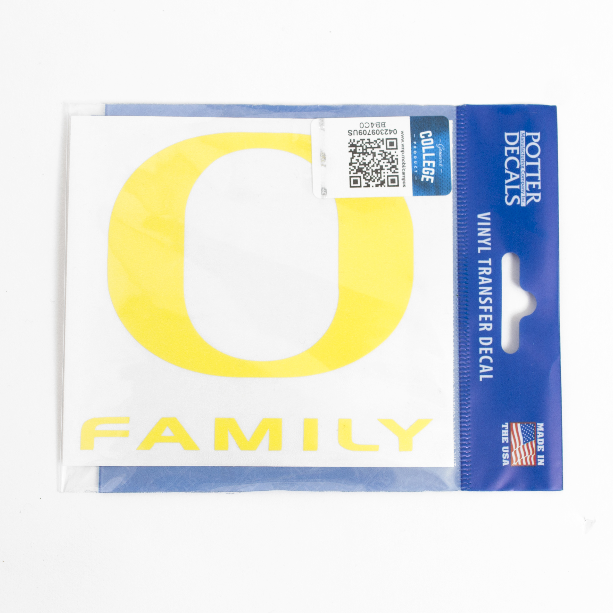 O-logo, Yellow, Decal, Family