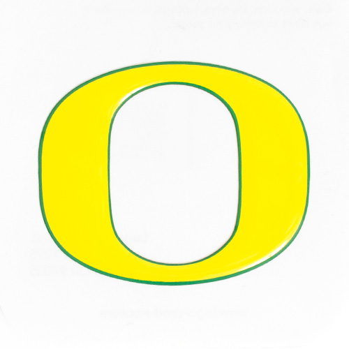 Yellow O Logo Letter 3