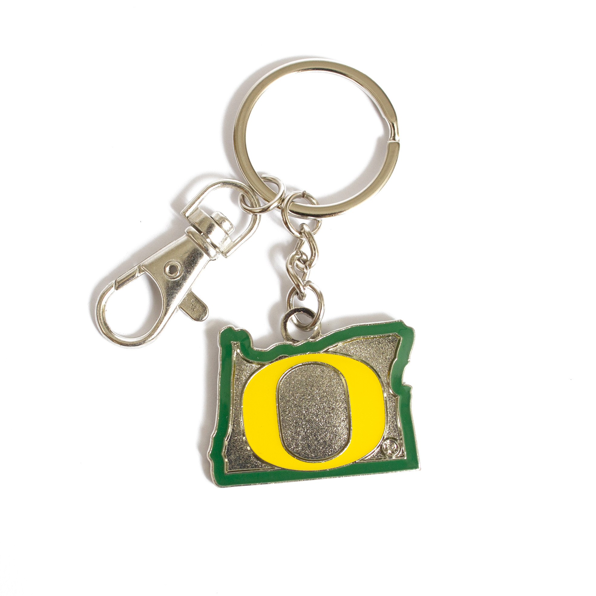 O-logo, State of Oregon, Metal, Keychain