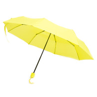 Yellow, Mini, Pocket, Umbrella, 42""