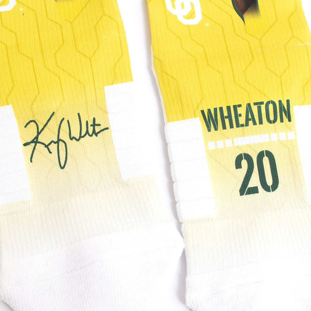 Strideline, The Pick, Kenny Wheaton, #20, Sock, Pair