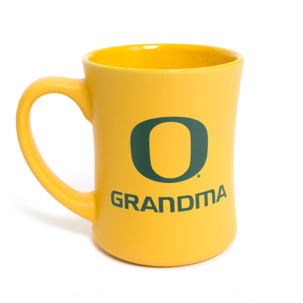 Yellow and Forest O Grandma Mug 16oz