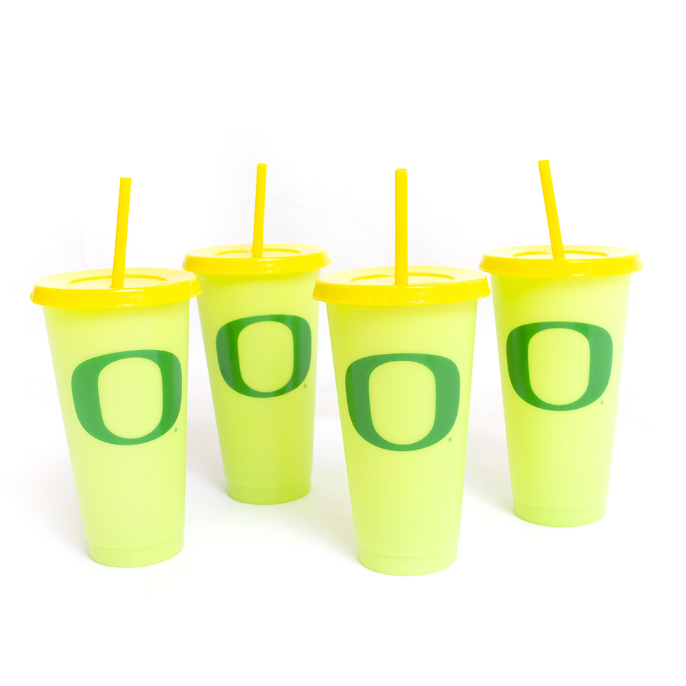 Classic Oregon O, Cold Changing, Tumbler, 4 Pack