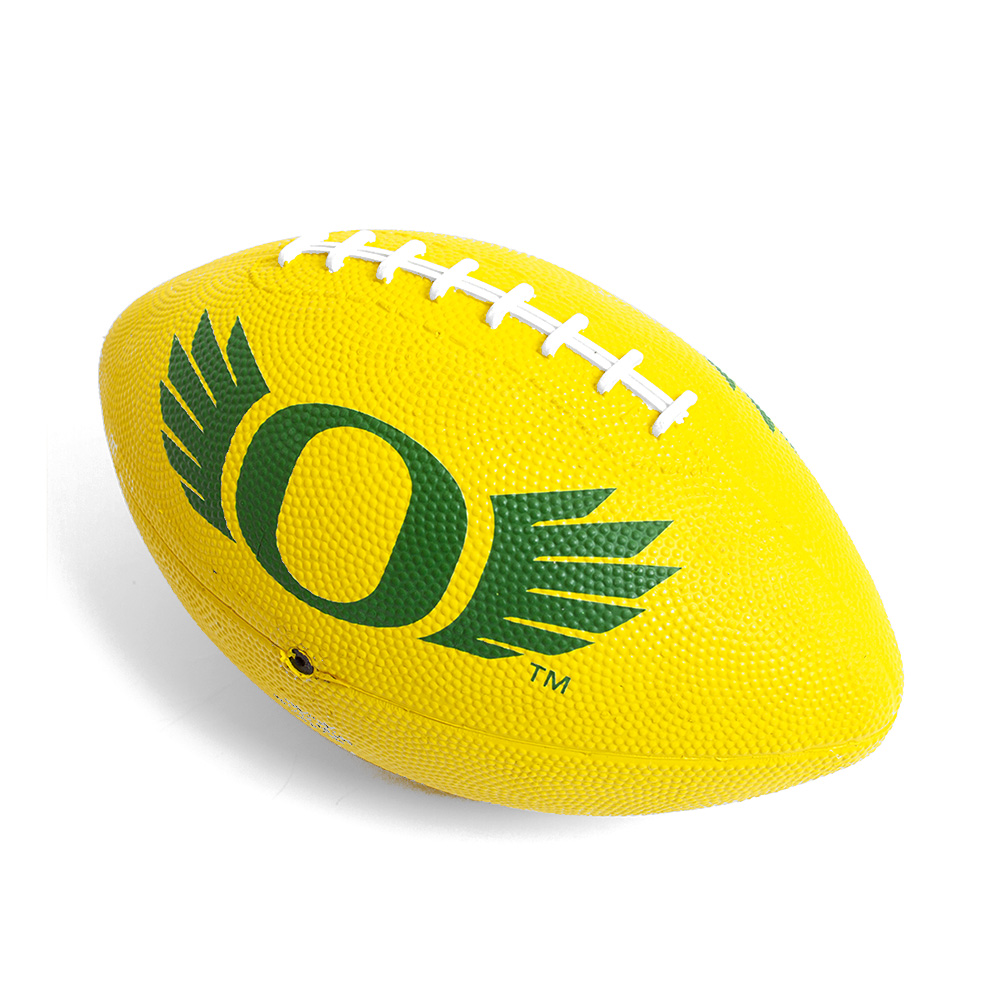 Classic Oregon O, WINGS, Mini, Football, Yellow