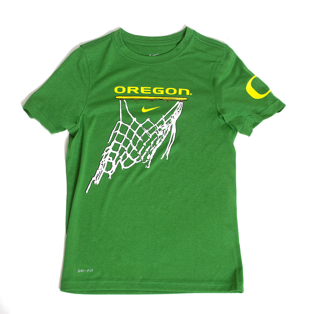 Classic Oregon O, Youth, Nike, Legend, Basketball, T-Shirt