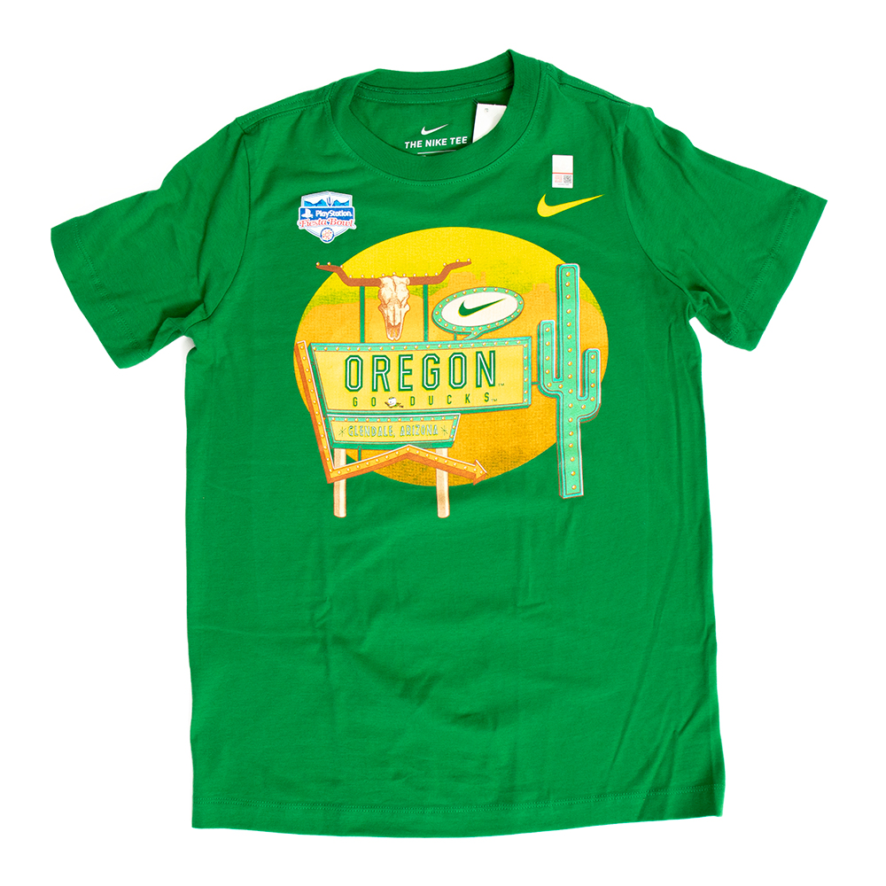 Fighting Duck, Youth, Nike Go Ducks, Fiesta Bowl, T-Shirt
