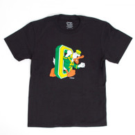 Youth Black Duck Through O Tee