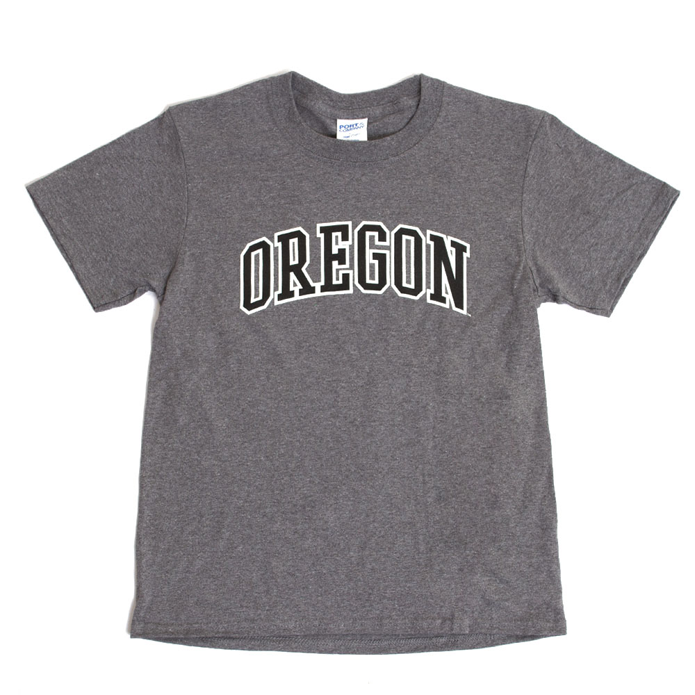 Arched Oregon, McKenzie SewOn, Printed, Crew Neck, T-Shirt