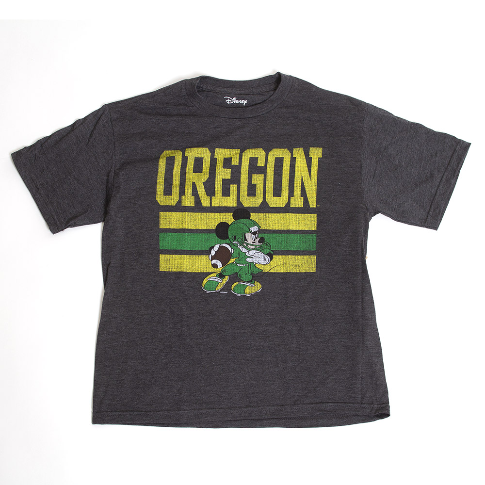 Mickey Mouse, Oregon, Blue 84, Youth, Distressed, T-Shirt