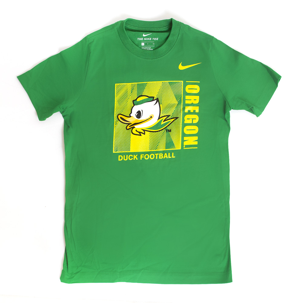 Fighting Duck, Oregon Football, Nike Swoosh, Crew Neck, T-Shirt