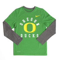 Oregon Ducks, Classic Oregon O, Nike, Legend, Long Sleeve, T-Shirt, Youth