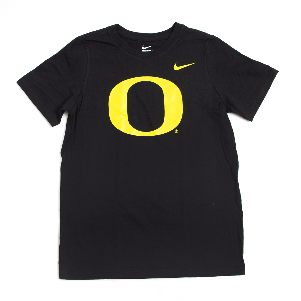 Classic Oregon O, Youth, Nike, Basic, Cotton, Short Sleeve, T-Shirt