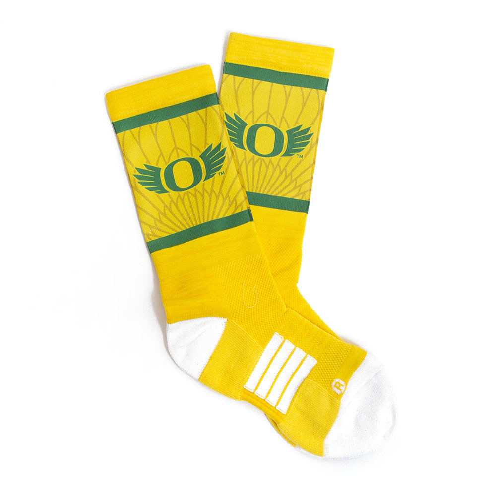 Classic Oregon O, Youth, Sock