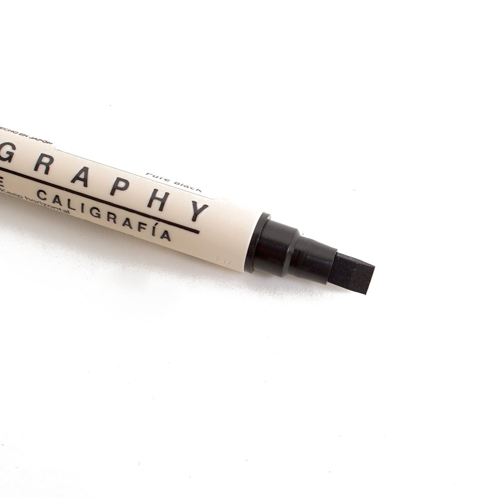 Calligraphy Marker, Dual Tip
