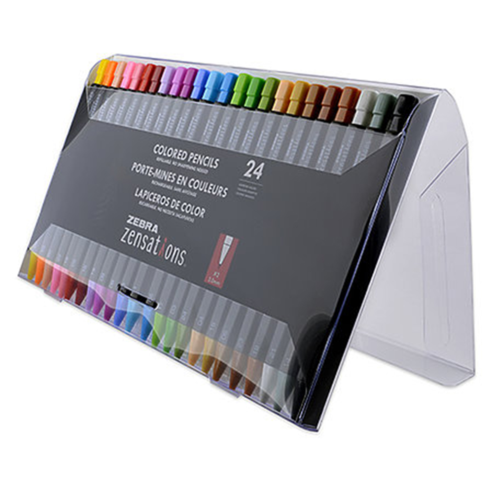 Zensations, Colored, Mechanical Pencils, 24 Set